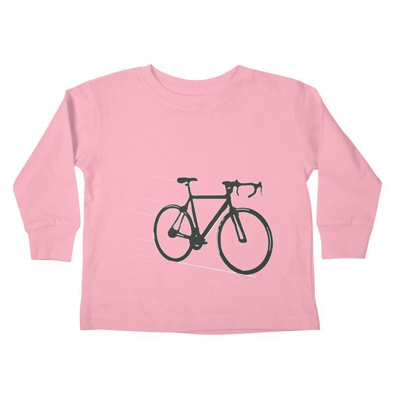 Take Me Out on the Road [Bike] Kids Toddler Longsleeve T-Shirt by rbonilla's Artist Shop