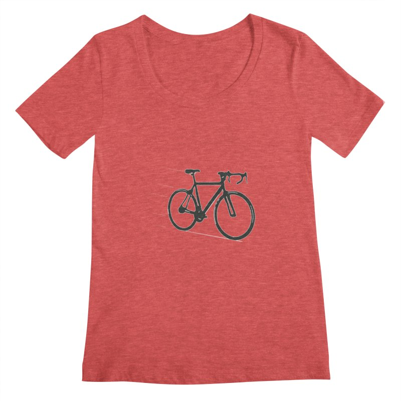 Take Me Out on the Road [Bike] Women's Scoopneck by rbonilla's Artist Shop