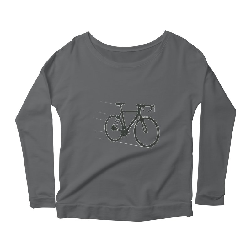 Take Me Out on the Road [Bike] Women's Longsleeve Scoopneck  by rbonilla's Artist Shop