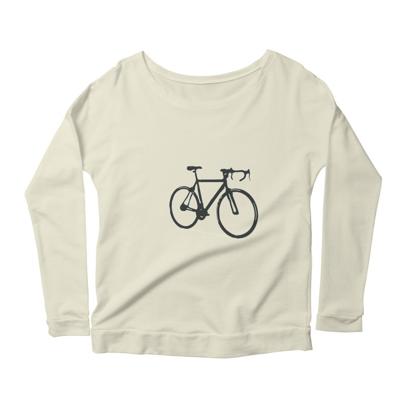 Take Me Out on the Road [Bike] Women's Longsleeve Scoopneck  by rbonilla's Artist Shop