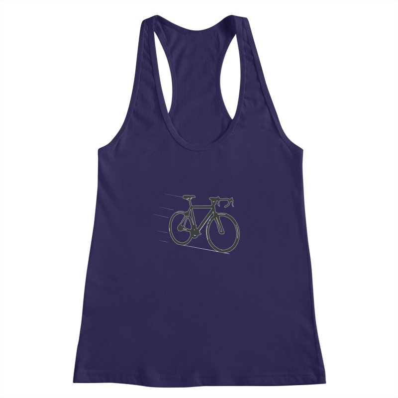 Take Me Out on the Road [Bike] Women's Racerback Tank by rbonilla's Artist Shop