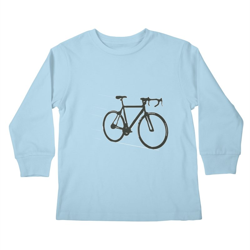 Take Me Out on the Road [Bike] Kids Longsleeve T-Shirt by rbonilla's Artist Shop