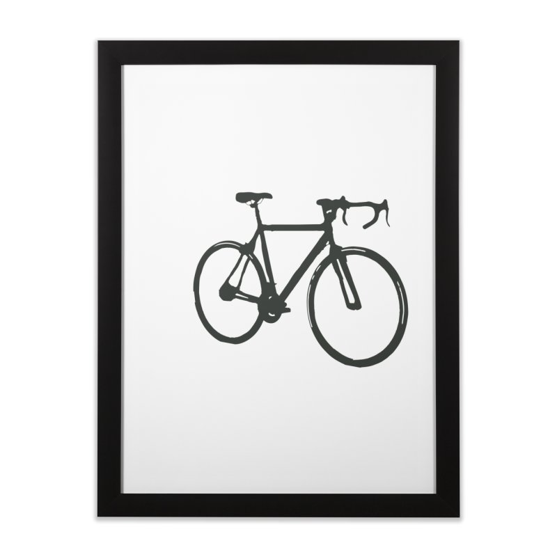 Take Me Out on the Road [Bike] Home Framed Fine Art Print by rbonilla's Artist Shop