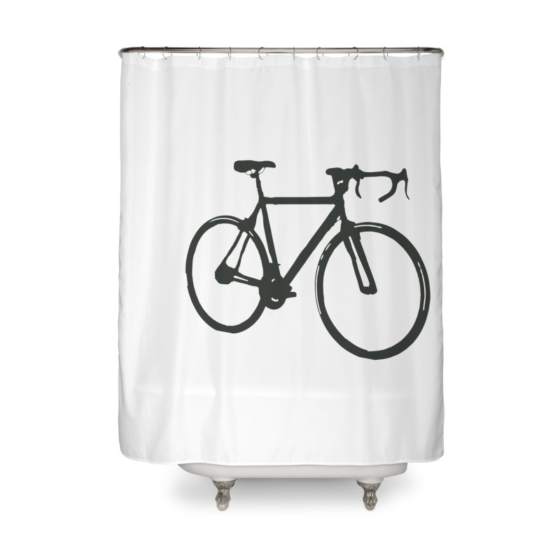 Take Me Out on the Road [Bike] Home Shower Curtain by rbonilla's Artist Shop