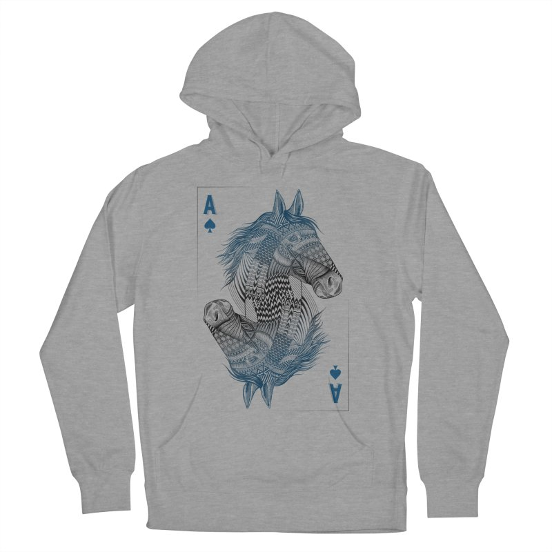 Horse Geo (Aces) Women's Pullover Hoody by rcaldwell's Shop
