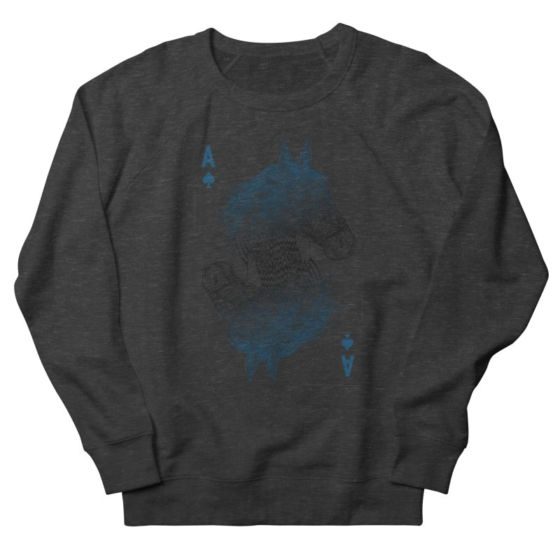 Horse Geo (Aces) Women's Sweatshirt by rcaldwell's Shop