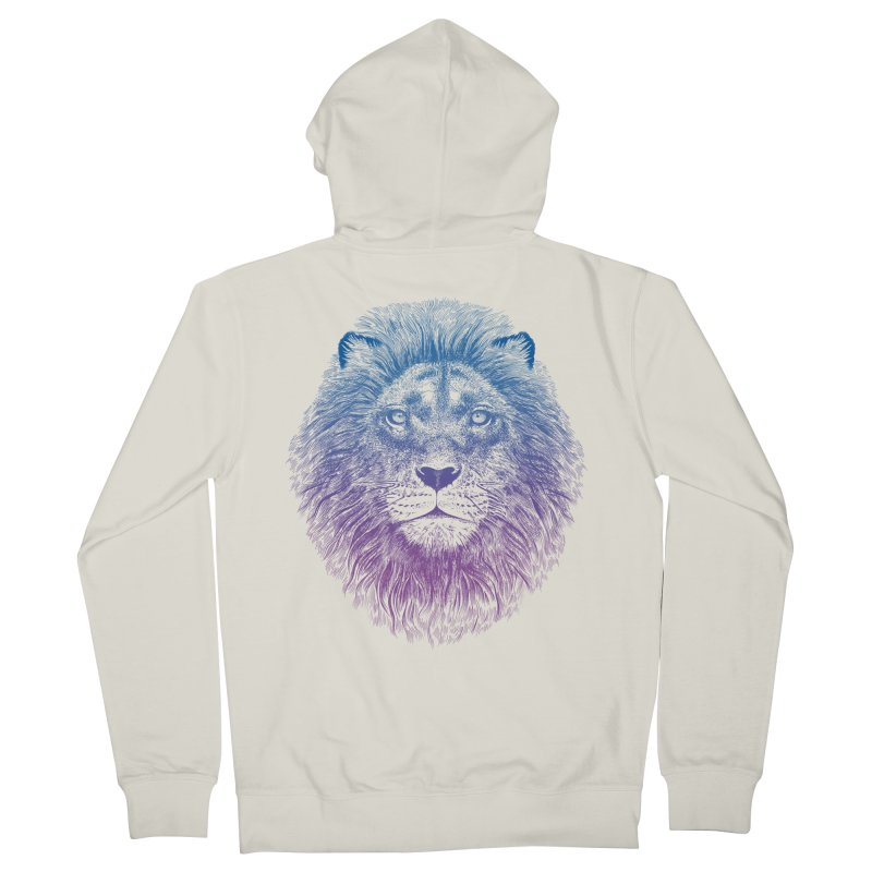 Face of a Lion Men's Zip-Up Hoody by rcaldwell's Shop