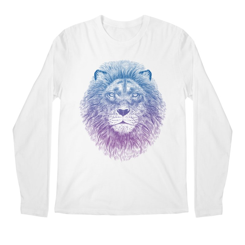 Face of a Lion Men's Longsleeve T-Shirt by rcaldwell's Shop