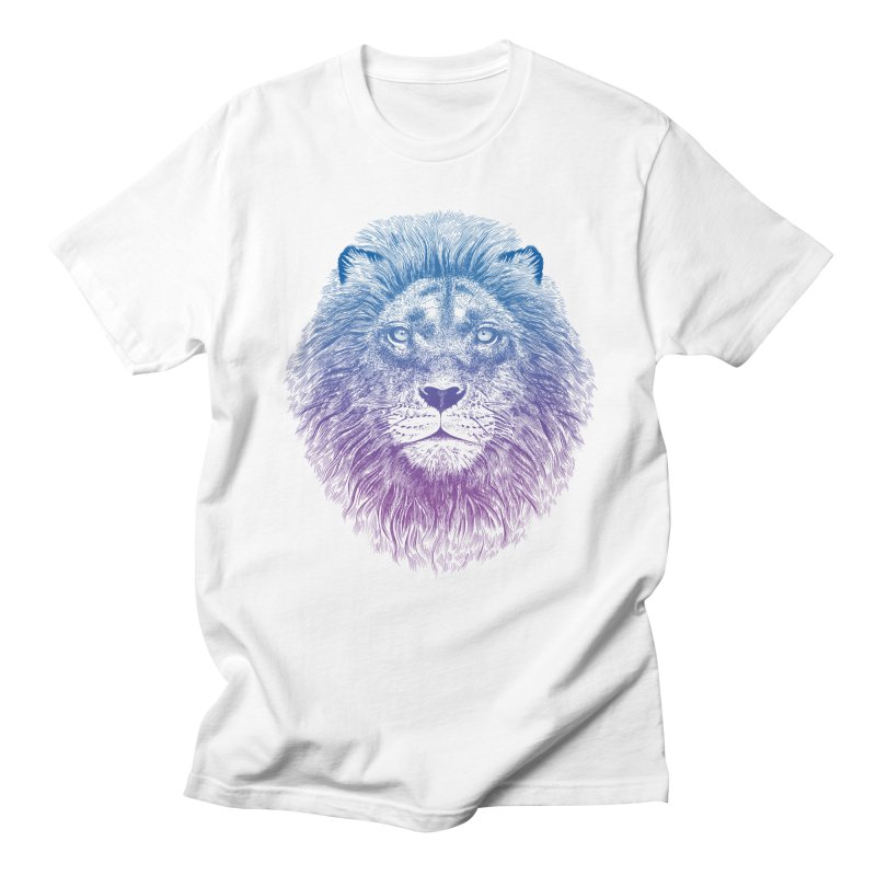 Face of a Lion Men's T-Shirt by rcaldwell's Shop
