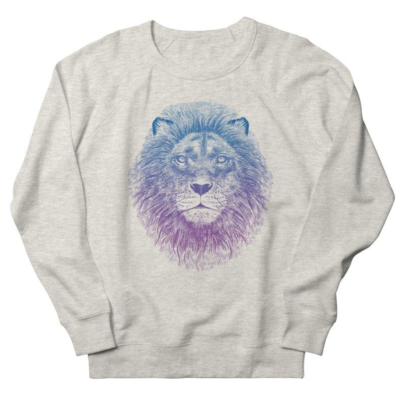 Face of a Lion Men's Sweatshirt by rcaldwell's Shop