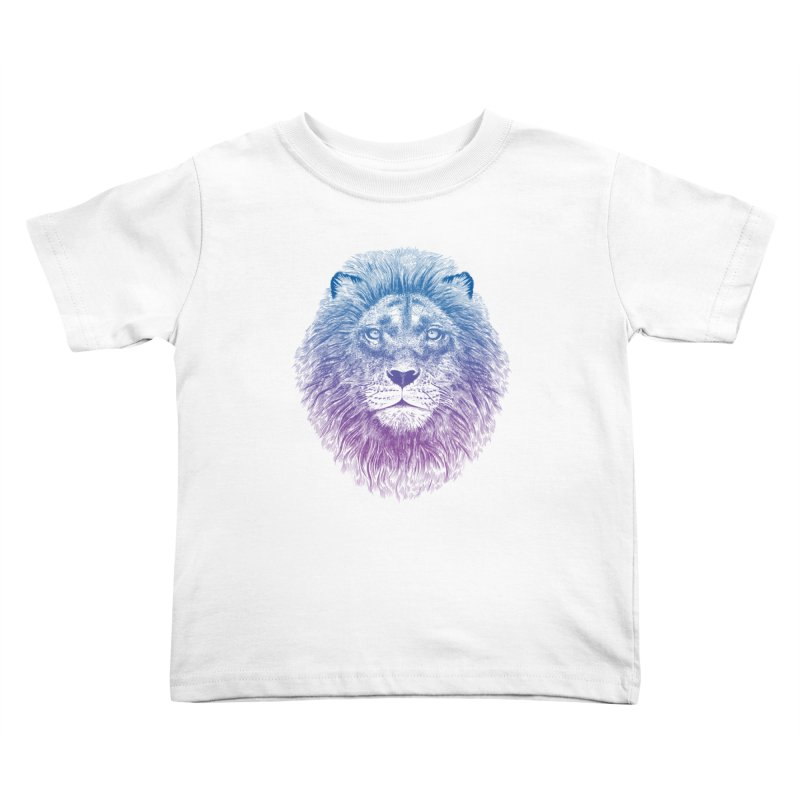 Face of a Lion Kids Toddler T-Shirt by rcaldwell's Shop