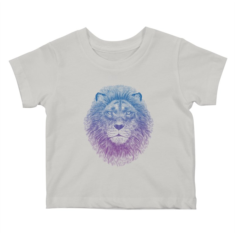 Face of a Lion Kids Baby T-Shirt by rcaldwell's Shop