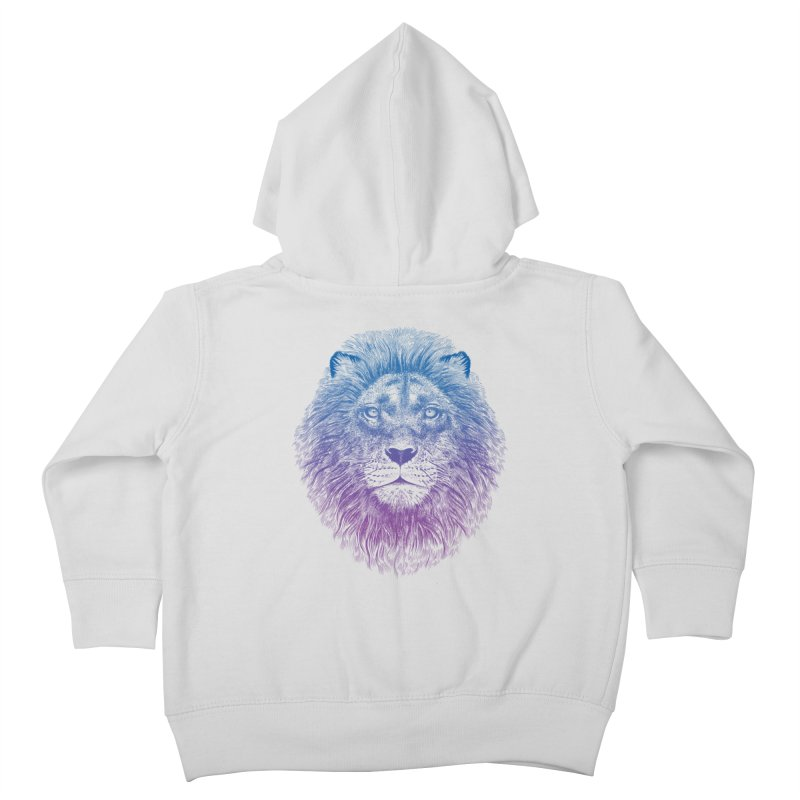 Face of a Lion Kids Toddler Zip-Up Hoody by rcaldwell's Shop