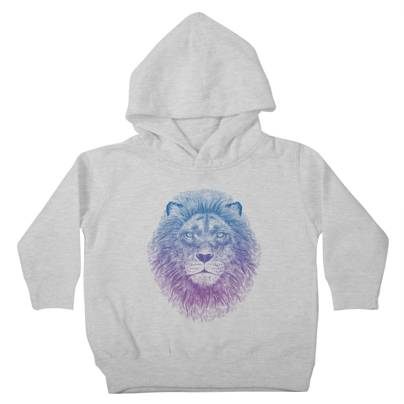 Face of a Lion Kids Toddler Pullover Hoody by rcaldwell's Shop