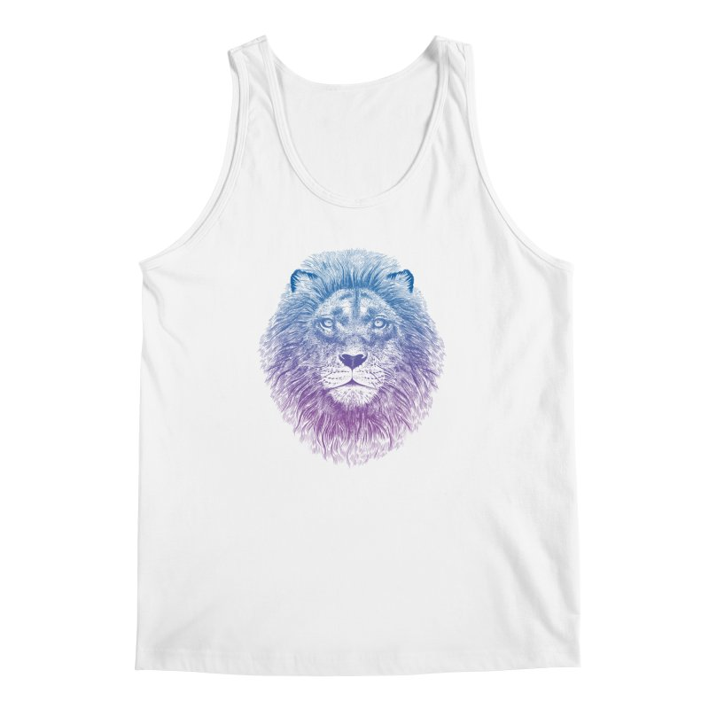 Face of a Lion Men's Tank by rcaldwell's Shop