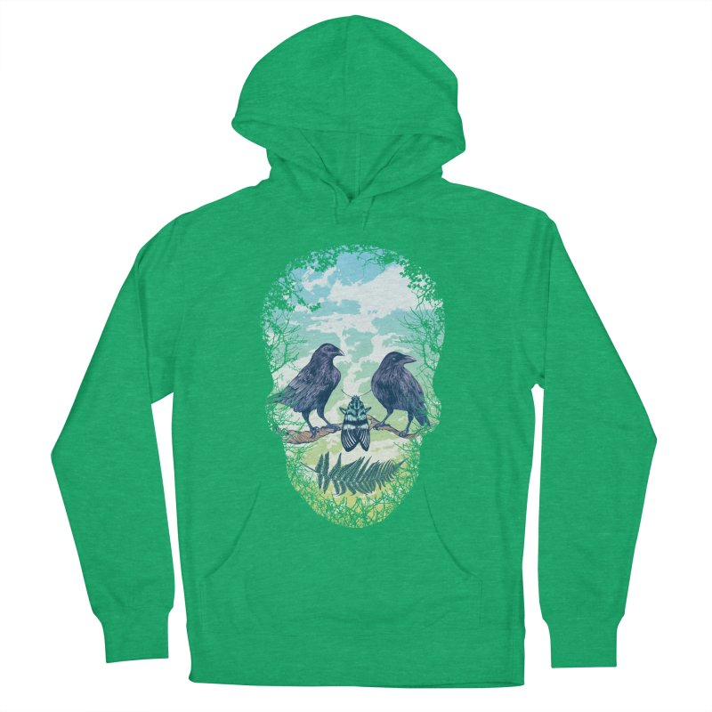 Nature's Skull Women's Pullover Hoody by rcaldwell's Shop