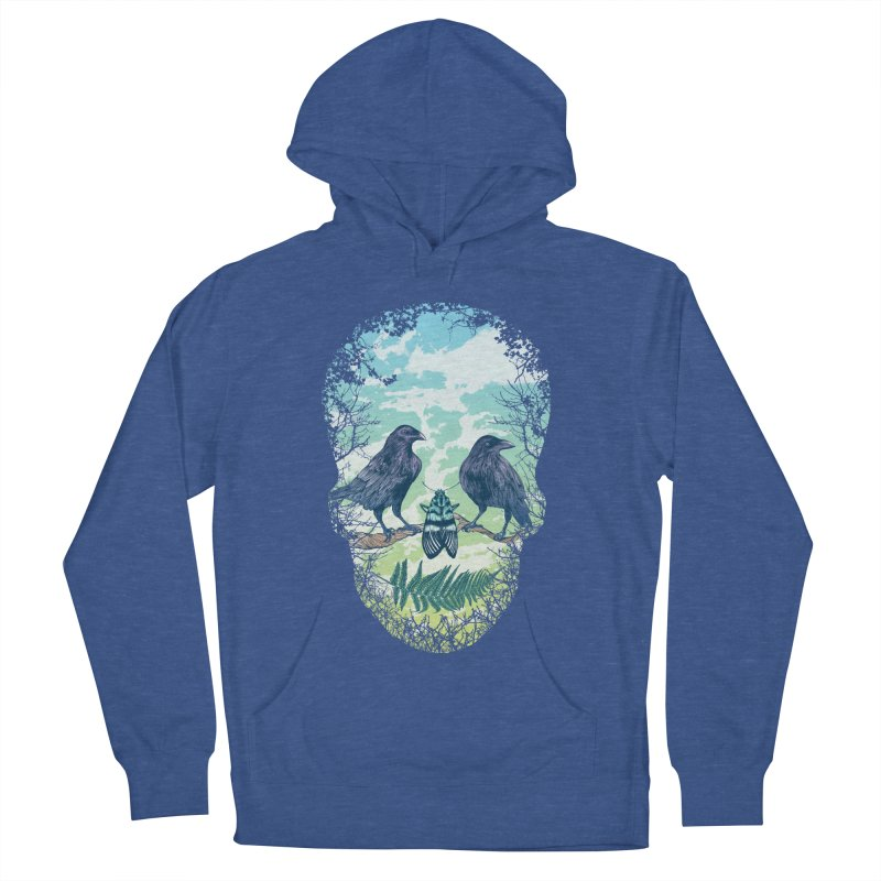 Nature's Skull Men's Pullover Hoody by rcaldwell's Shop