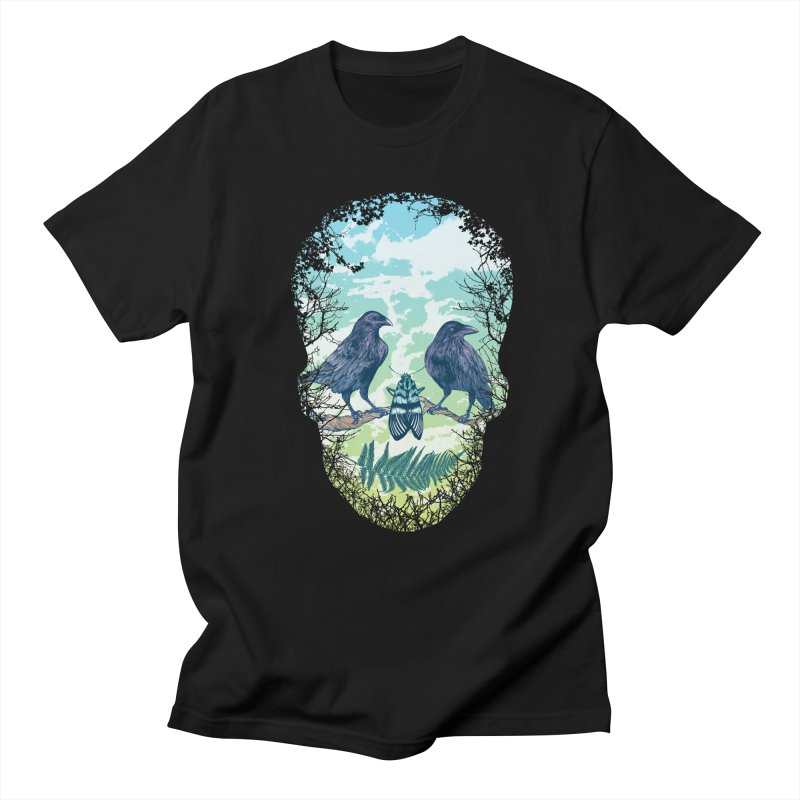 Nature's Skull Men's T-shirt by rcaldwell's Shop