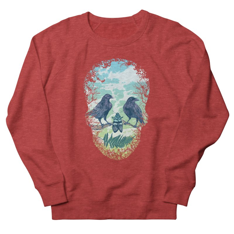Nature's Skull Men's Sweatshirt by rcaldwell's Shop