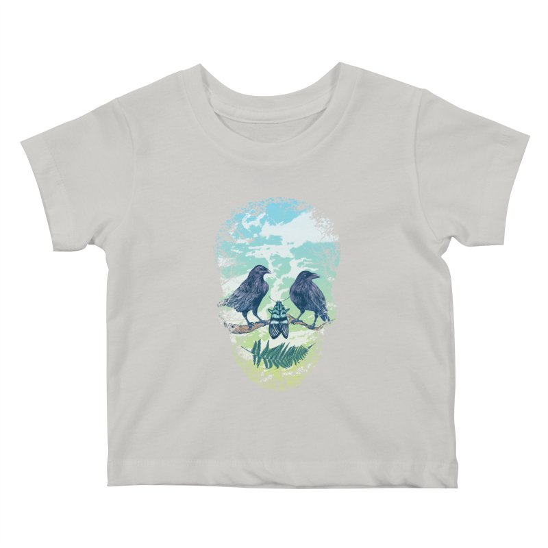 Nature's Skull Kids Baby T-Shirt by rcaldwell's Shop