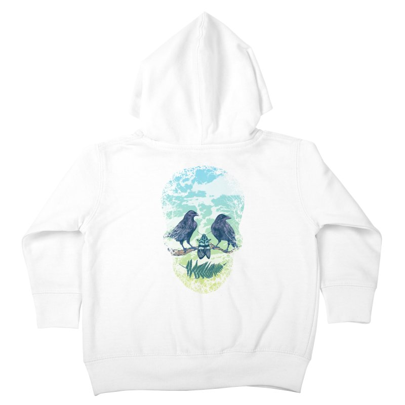 Nature's Skull Kids Toddler Zip-Up Hoody by rcaldwell's Shop
