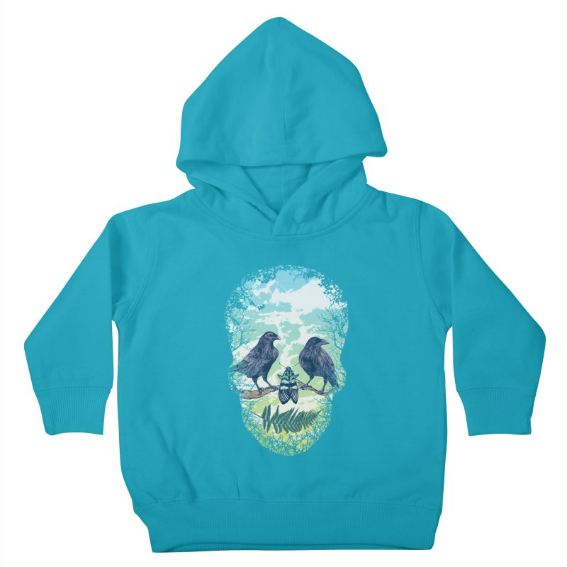 Nature's Skull Kids Toddler Pullover Hoody by rcaldwell's Shop