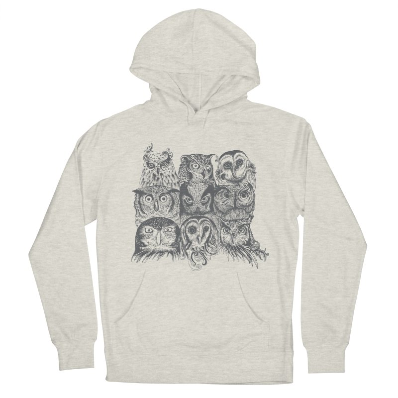 Nine Wise Owls Women's Pullover Hoody by rcaldwell's Shop