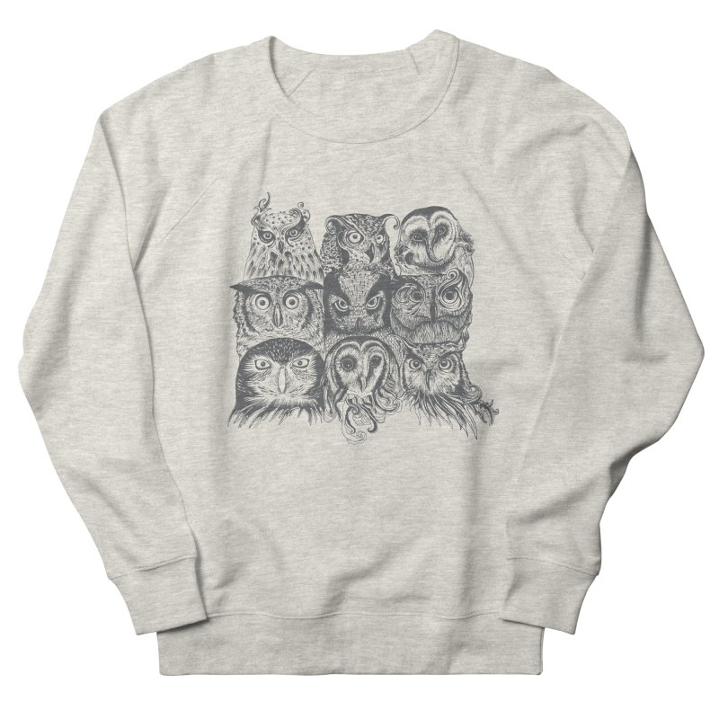 Nine Wise Owls Men's Sweatshirt by rcaldwell's Shop