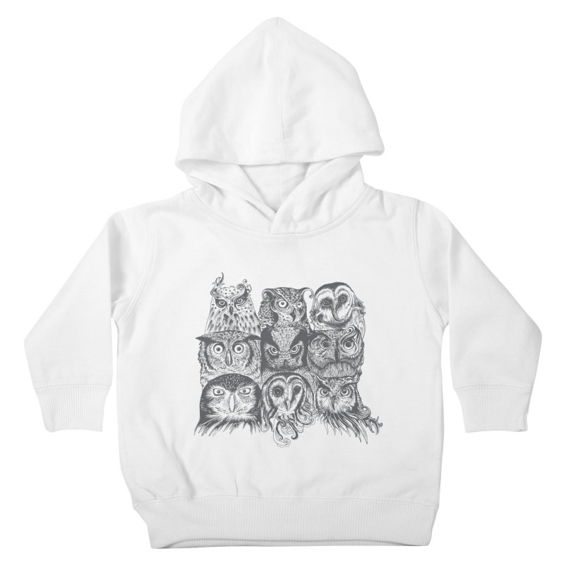 Nine Wise Owls Kids Toddler Pullover Hoody by rcaldwell's Shop