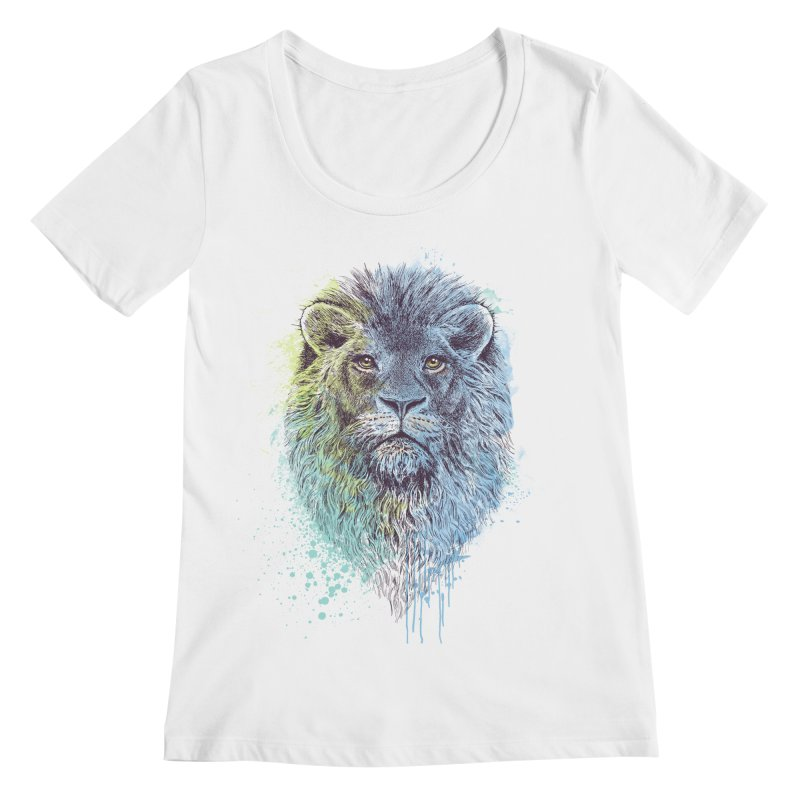 Lion King Women's Scoopneck by rcaldwell's Shop