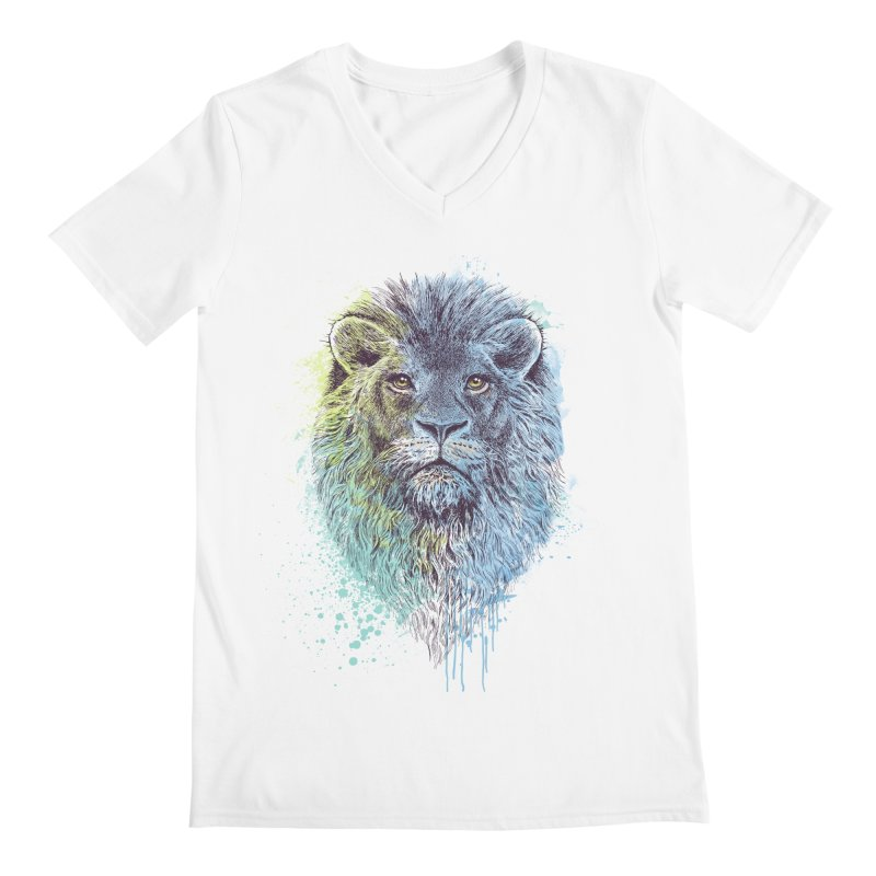 Lion King Men's V-Neck by rcaldwell's Shop
