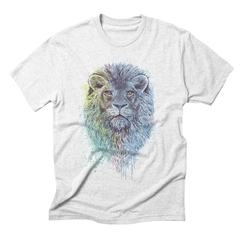 Lion King Men's Triblend T-shirt by rcaldwell's Shop