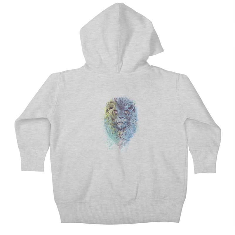 Lion King Kids Baby Zip-Up Hoody by rcaldwell's Shop