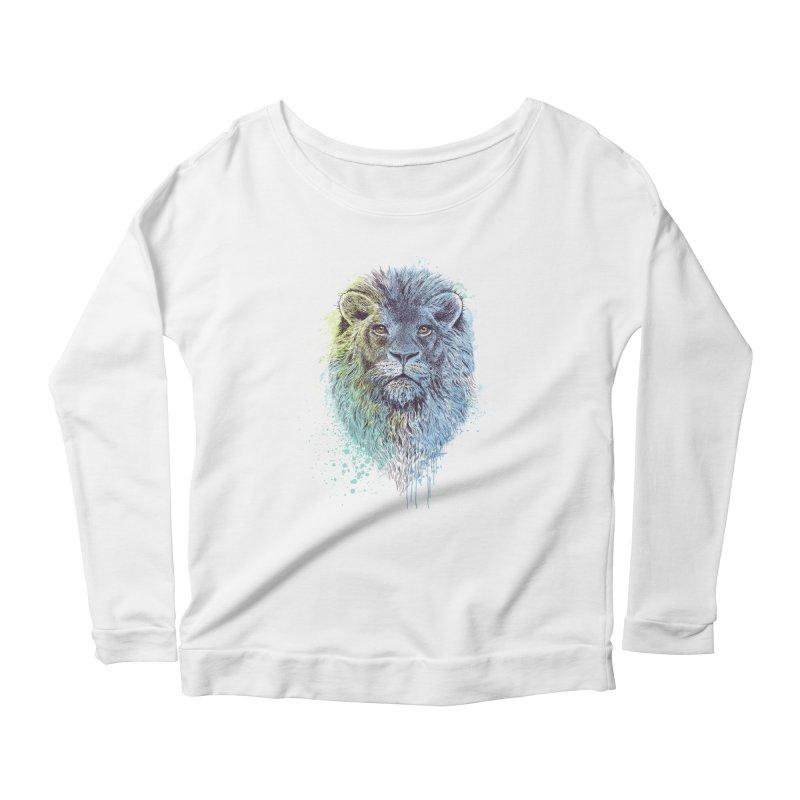 Lion King Women's Longsleeve Scoopneck  by rcaldwell's Shop