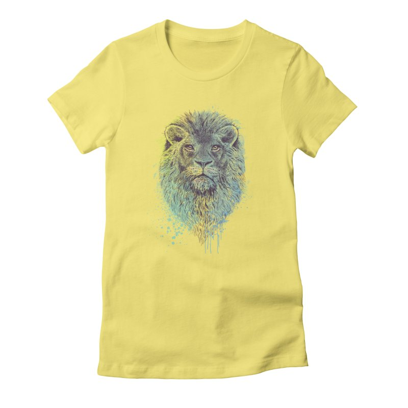 Lion King Women's Fitted T-Shirt by rcaldwell's Shop