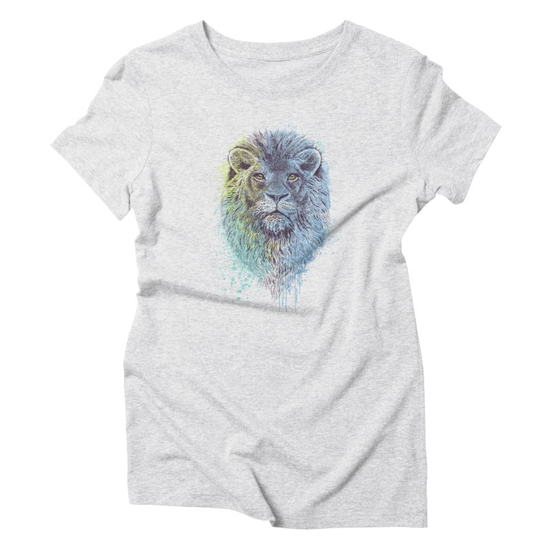 Lion King Women's Triblend T-shirt by rcaldwell's Shop