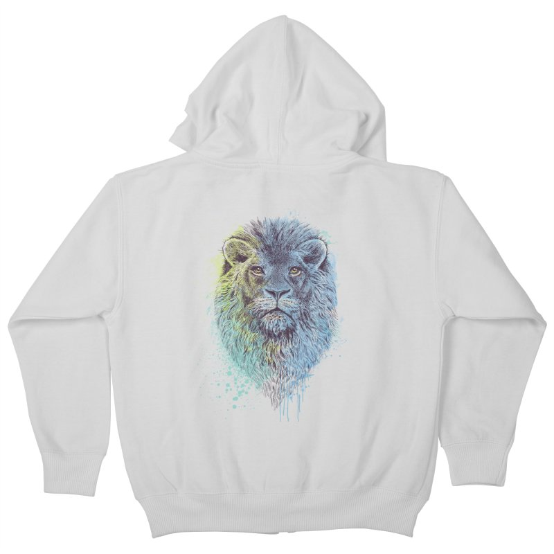 Lion King Kids Zip-Up Hoody by rcaldwell's Shop