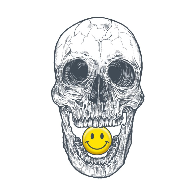 Have A Nice Day Skull None  by rcaldwell's Shop