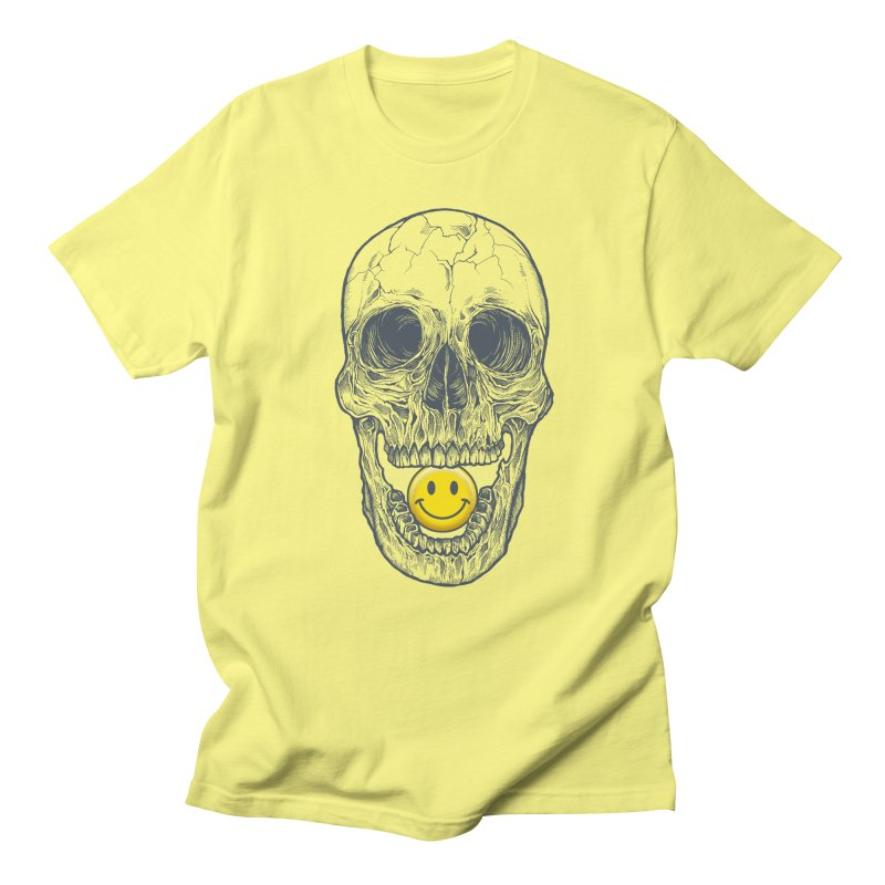 Have A Nice Day Skull Men's T-shirt by rcaldwell's Shop