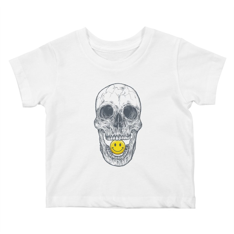 Have A Nice Day Skull Kids Baby T-Shirt by rcaldwell's Shop