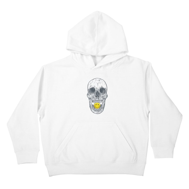 Have A Nice Day Skull Kids Pullover Hoody by rcaldwell's Shop