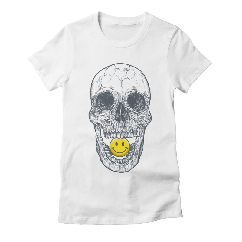 Have A Nice Day Skull   by rcaldwell's Shop