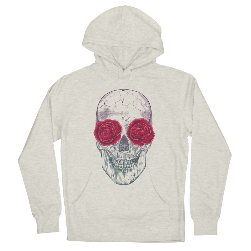 Skull and Roses Women's Pullover Hoody by rcaldwell's Shop