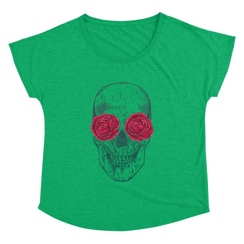 Skull and Roses Women's Dolman by rcaldwell's Shop