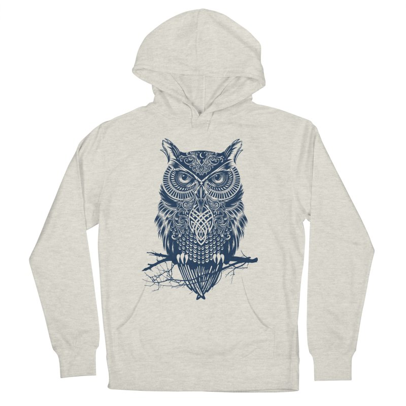 Warrior Owl Men's Pullover Hoody by rcaldwell's Shop
