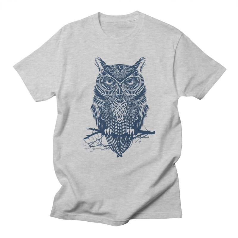 Warrior Owl Men's T-shirt by rcaldwell's Shop