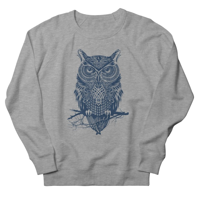Warrior Owl Men's Sweatshirt by rcaldwell's Shop
