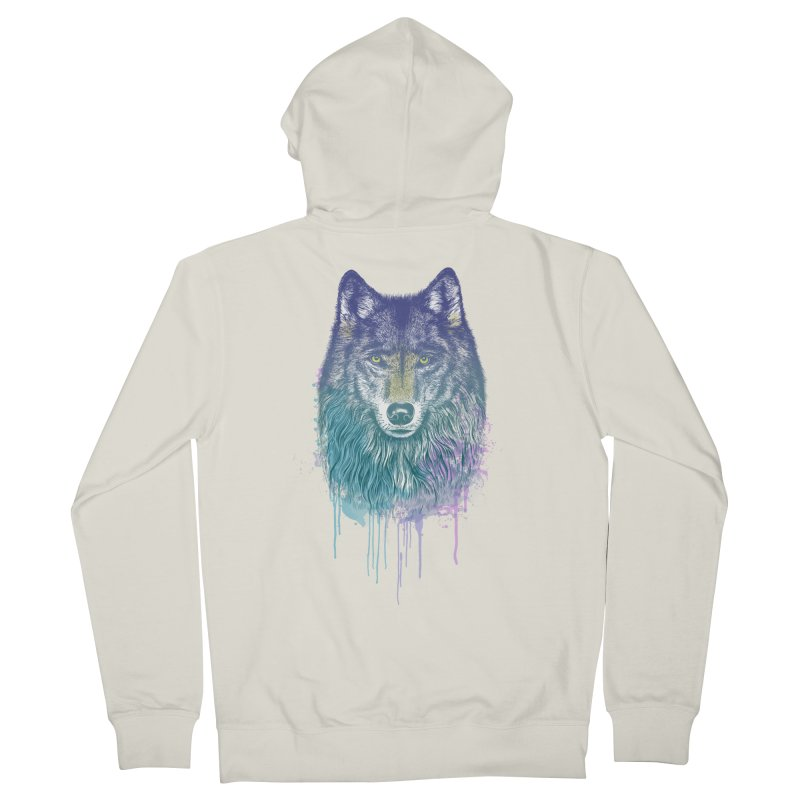 I Dream of Wolf Women's Zip-Up Hoody by rcaldwell's Shop