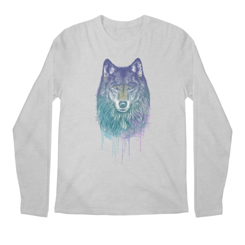 I Dream of Wolf Men's Longsleeve T-Shirt by rcaldwell's Shop