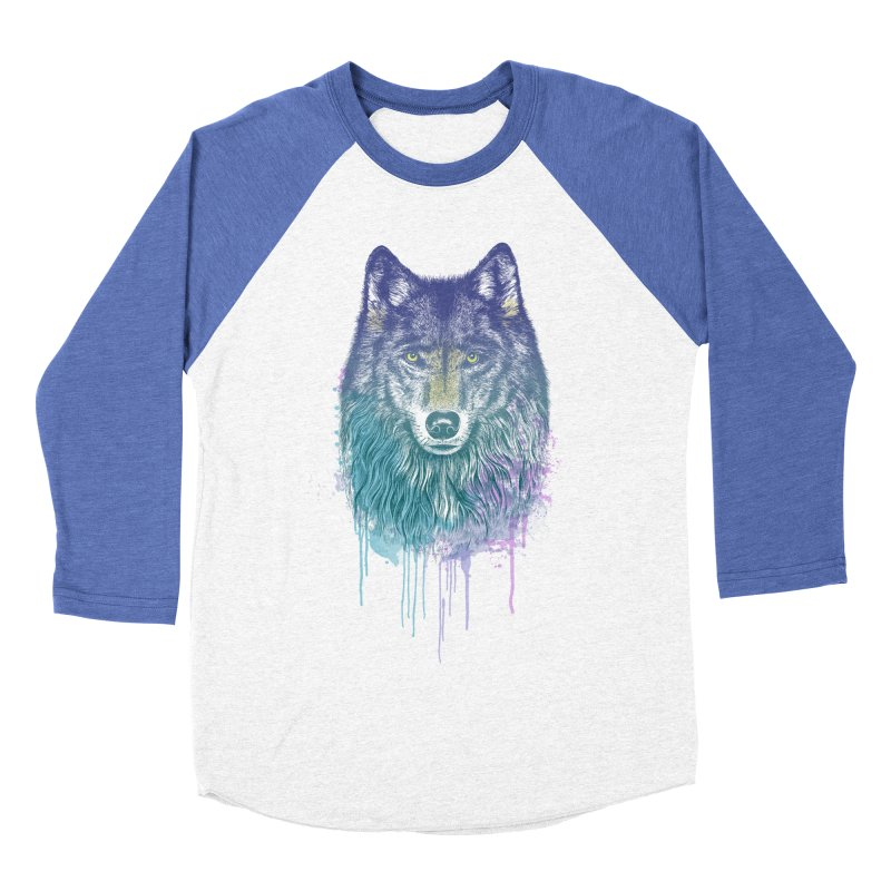 I Dream of Wolf Women's Baseball Triblend T-Shirt by rcaldwell's Shop